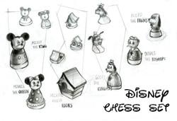 Disney Chess Set