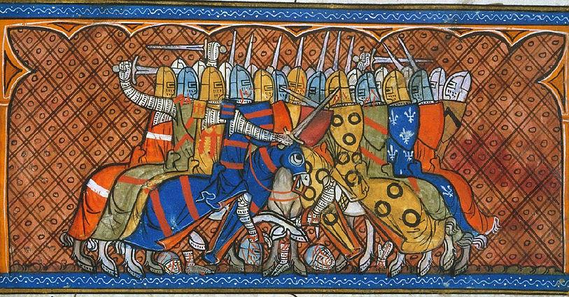 Battaglia-Bouvines-XIII-sec conte di lan