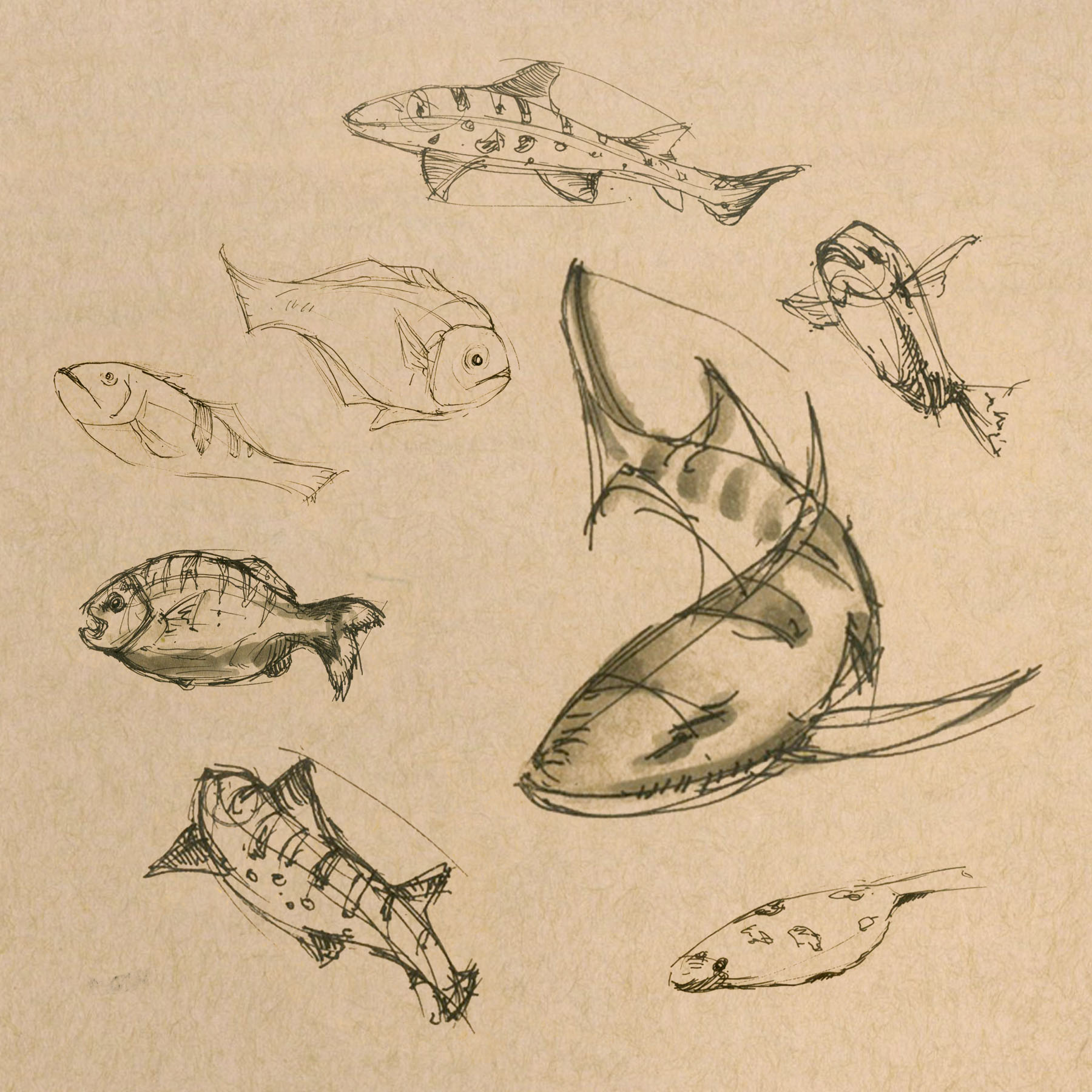fish and spaceship 1