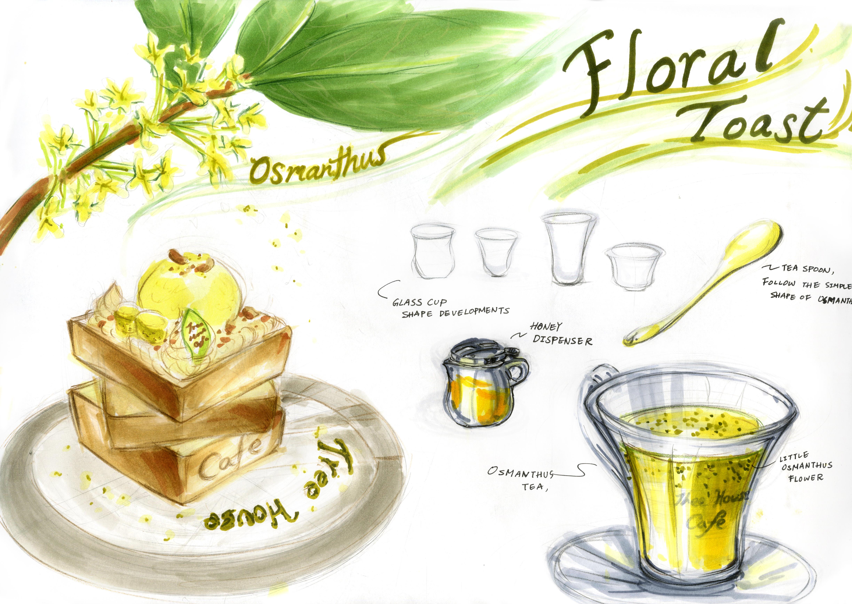 Floral Toast