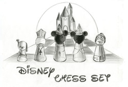 Disney Chess Set