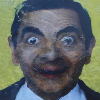Mr. Bean 116.8x91cm Oil on canvas 2017.j
