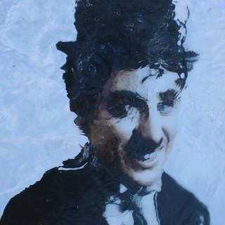 Charles Chaplin  116.8x91cm Oil on canva