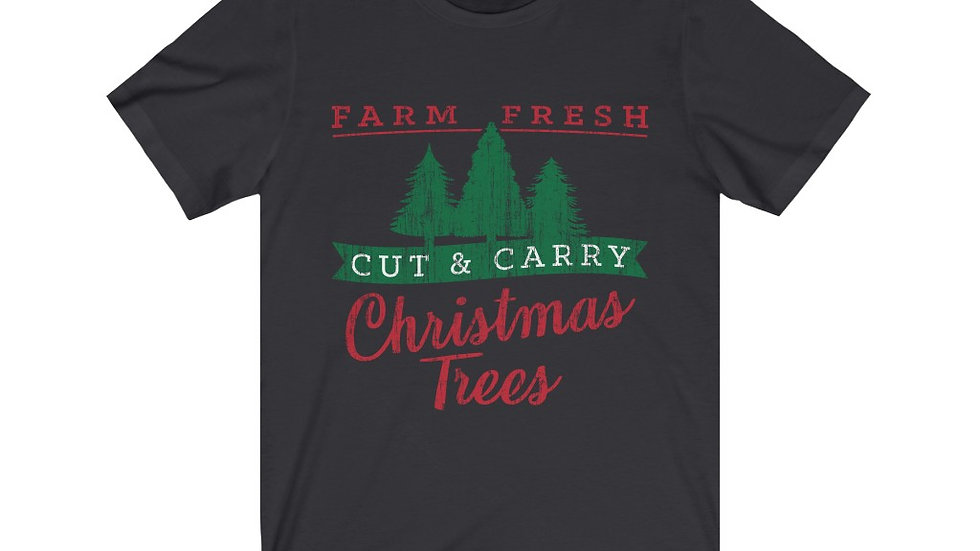 Christmas Trees Short Sleeve Tee