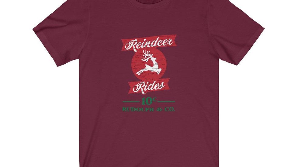 Reindeer Rides Short Sleeve Tee