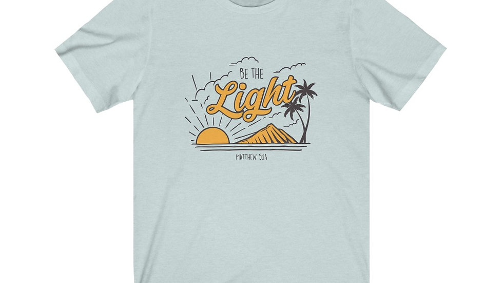 BE THE LIGHT Short Sleeve Tee