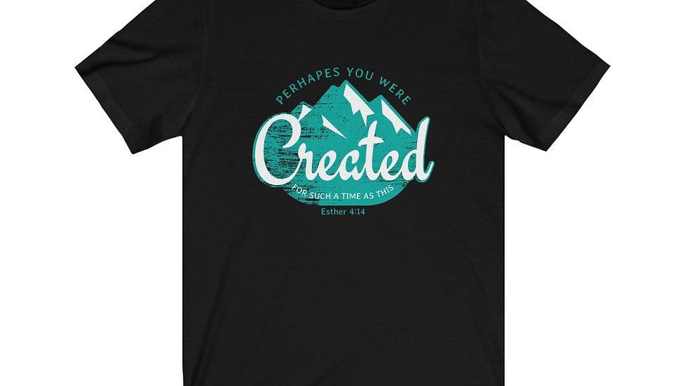 CREATED (Mountain) Short Sleeve Tee