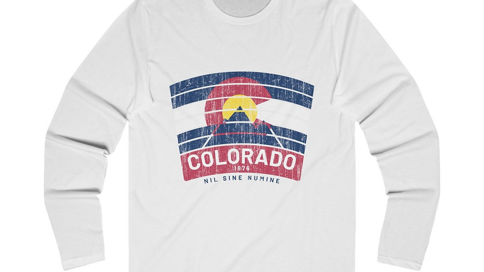 Colorado Banner Long Sleeve Crew Tee