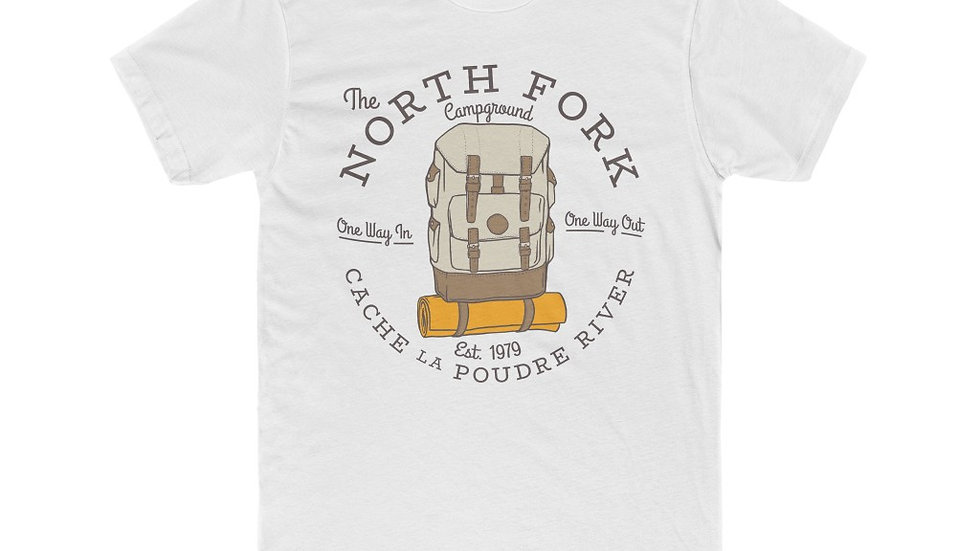 NORTH FORK Cotton Crew Tee