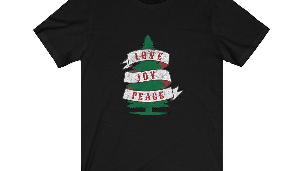 Love Joy Peace Short Sleeve Tee
