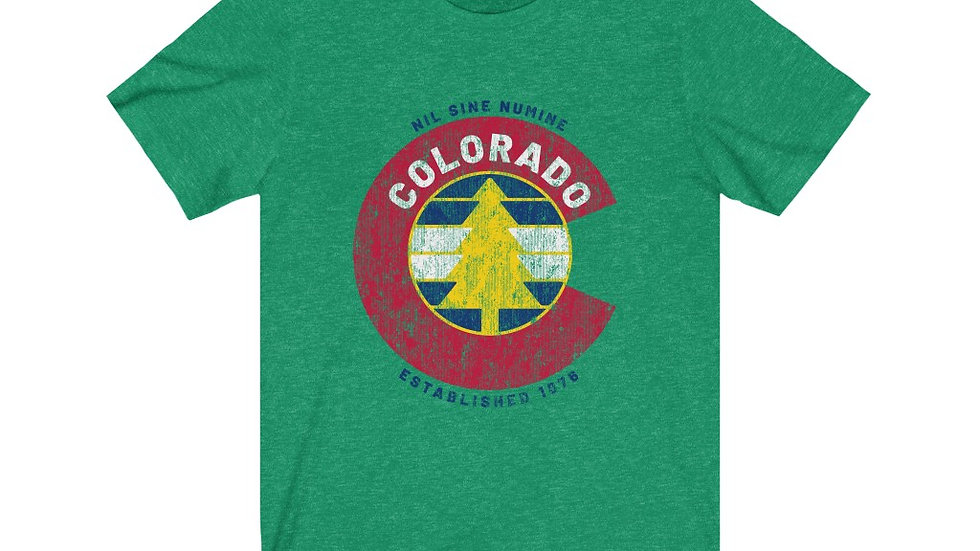 Colorado C & Tree Short Sleeve Tee