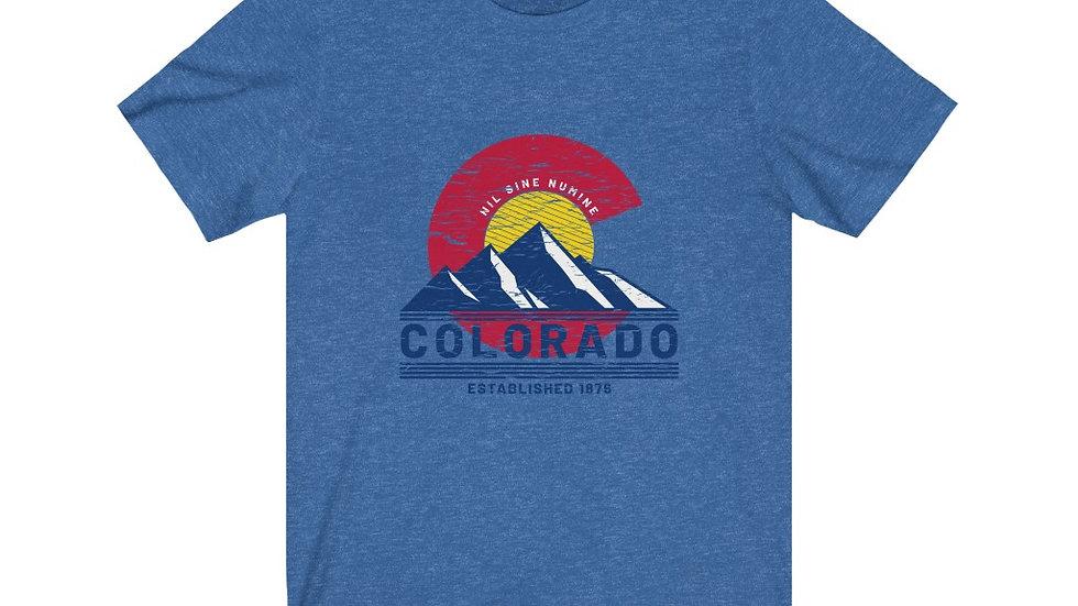 Colorado Mountains Short Sleeve Tee