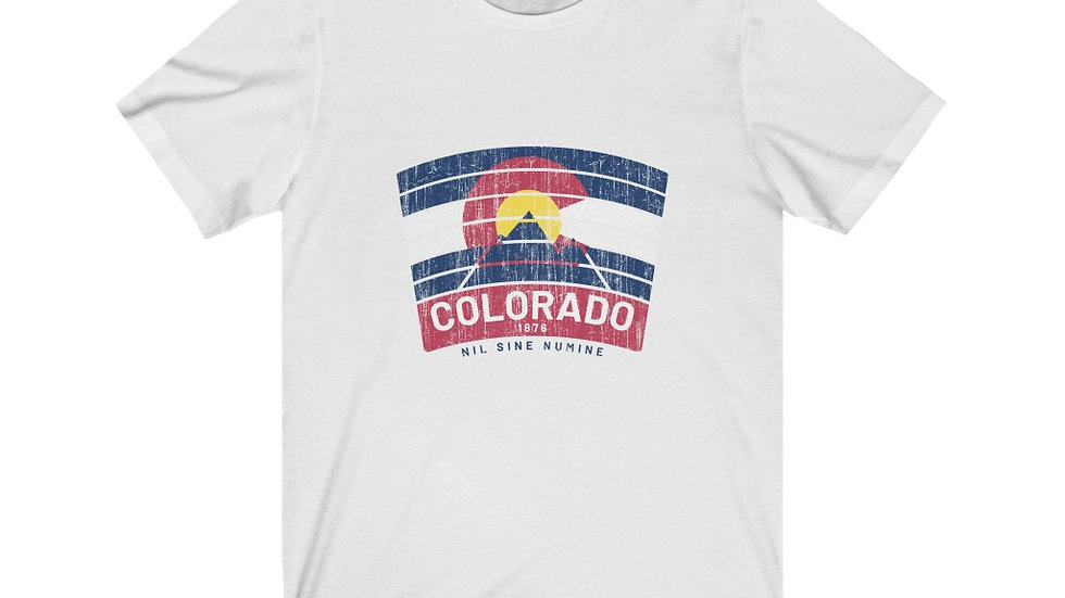 Colorado Banner Short Sleeve Tee