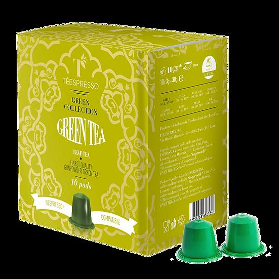 Green Tea Pods - 5x10's = 50 pods