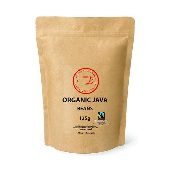 NEW Organic Java Coffee - Fairtrade - BEANS