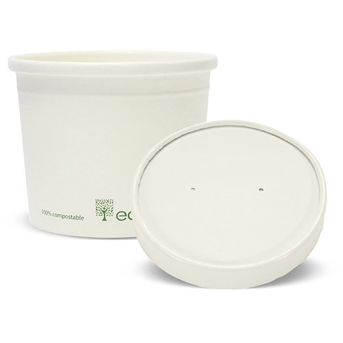 Lids for Soup / Ice Cream Container 12oz (500)
