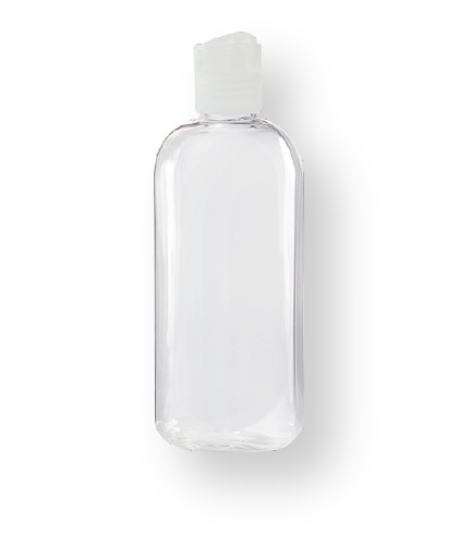 10 x 100ml Refillable Empty Desk/Vehicle Bottle for Hand Sanitising