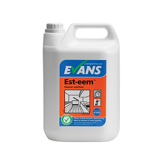 Evans Est-eem Cleaner Sanitiser 5L