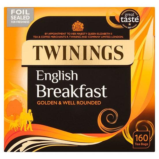 Twinings English Breakfast 160 Tea Bags
