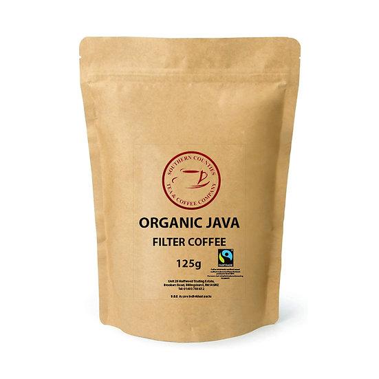 Organic Java Filter Coffee - Fairtrade