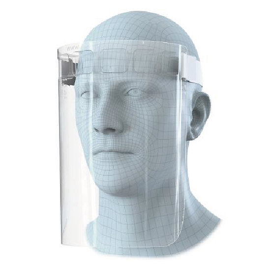 Face Safety Visor with Adjustable Head Band