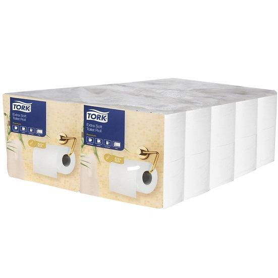 Tork Extra 3ply Toilet Tissue X 40 Rolls