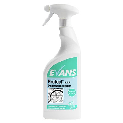 Evans Protect Disinfectant Cleaner 750ml