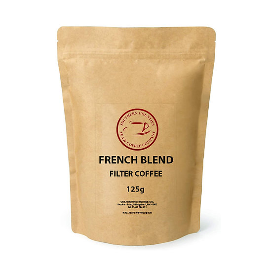 French Blend Filter Coffee 125g