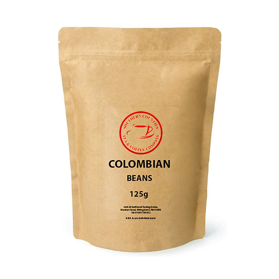 NEW Colombian Coffee 125g BEANS