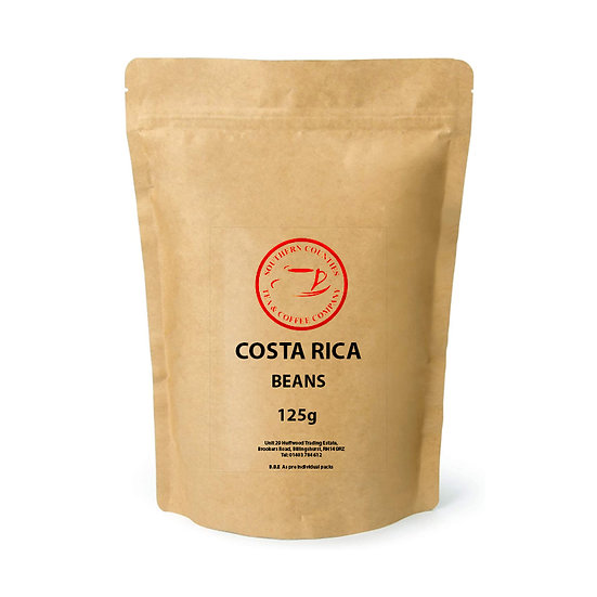 NEW Costa Rica Filter Coffee 125g BEANS