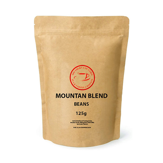 NEW Mountain Blend Coffee 125g BEANS