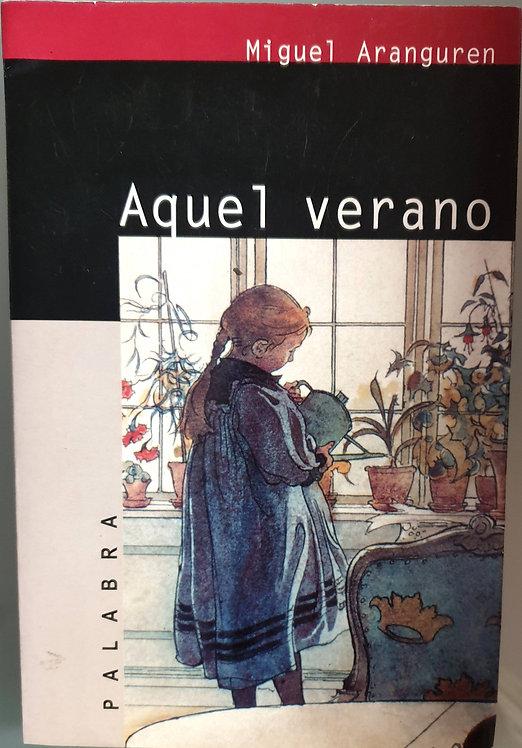 Aquel verano   Aranguren, Miguel