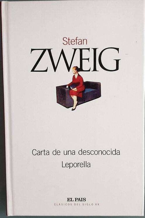 Carta de una desconocida - Laporella | Zweig, Stefan