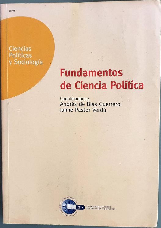 Fundamentos de Ciencia Política | Blas Guerrero, Andrés-Pastor Verdú, Jaime