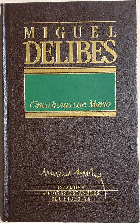 Cinco horas con Mario   Delibes, Miguel