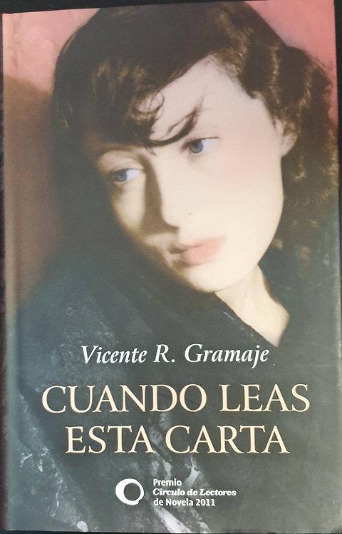 Cuando leas esta carta | Gramaje, Vicente R.