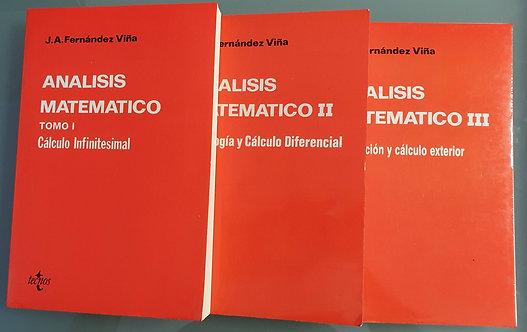 Análisis Matemático (i, II y III) | Fernández Viña, José Antonio