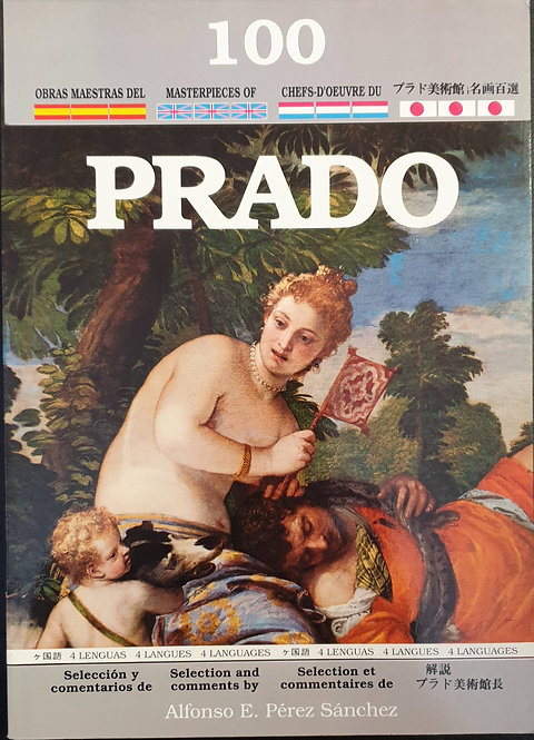 100 Obras Maestras del Museo del Prado (En 4 idiomas) | Pérez Sánchez, Alfonso