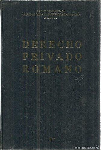Derecho Privado Romano   Fuenteseca, Pablo