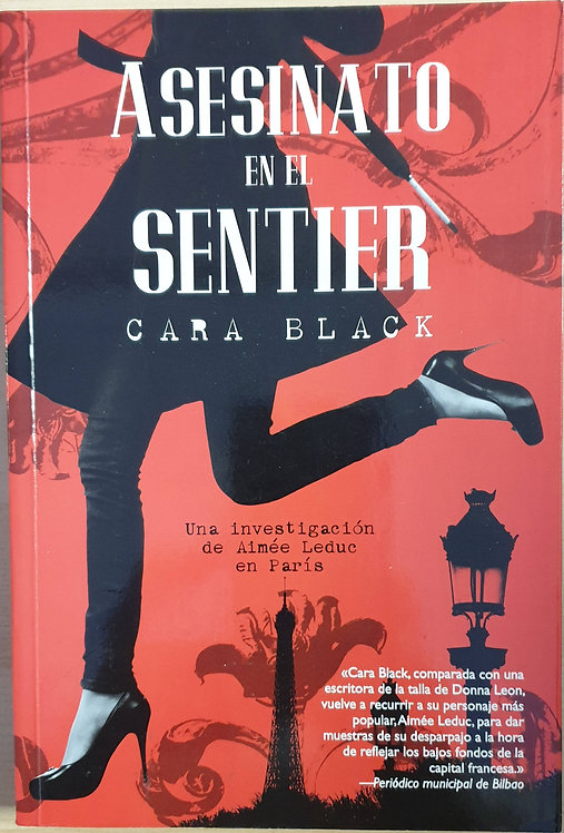 Asesinato en el Sentier | Black, Cara