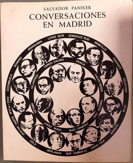 Conversaciones en Madrid   Paniker, Salvador