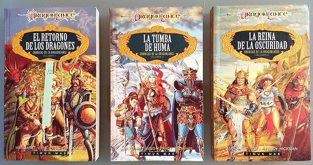 Crónicas de la Dragonlance (Trilogía)   Weis, Margaret-Hickman, Tracy