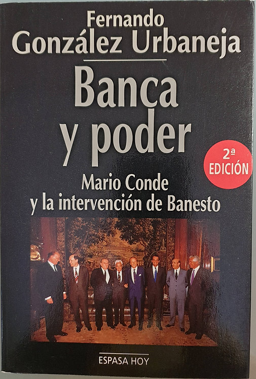 Banca y poder   González Urbaneja, Fernando