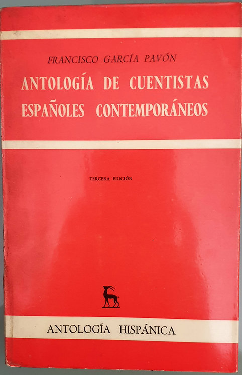 Antología de cuentistas españoles contemporáneos | García Pavón, F.