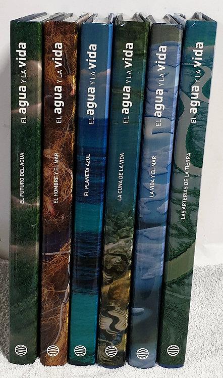El agua y la vida (6 tomos) | VV.AA.