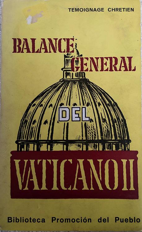 Balance general del Vaticano II | VV.AA.