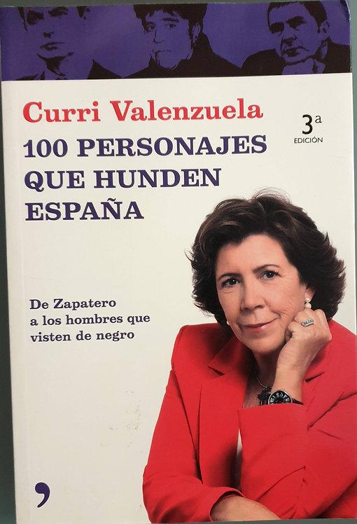 25 personajes que hunden España | Valenzuela, Curri