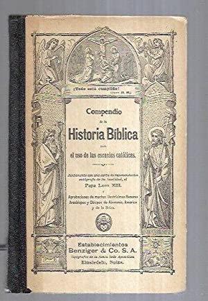 Compendio de la Historia Bíblica para el uso de las escuelas católicas   VV.AA.