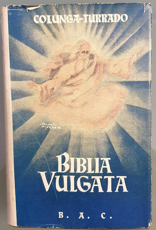 Biblia Vulgata (Latín)   Colunga, Alberto-Turrado, Laurentio
