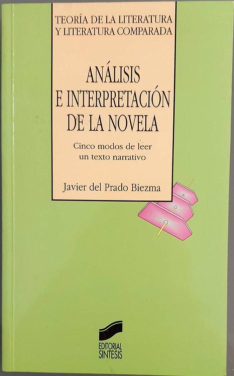 Análisis e interpretación de la novela   Prado Biezma, Javier del